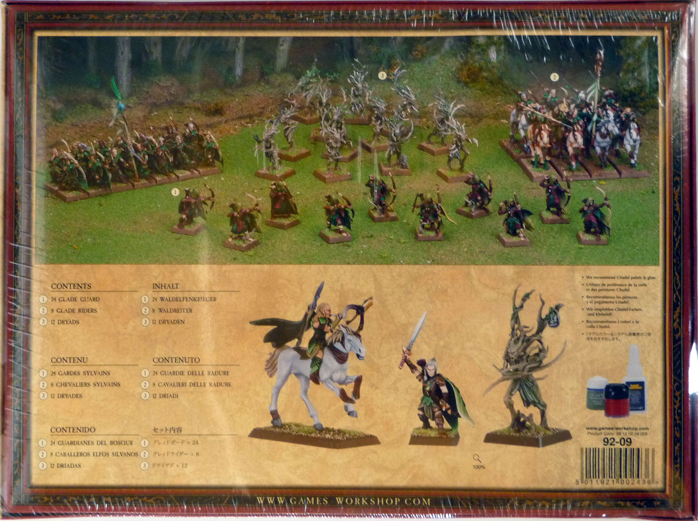 Games Workshop Fantasy Warhammer Wood Elves Wood Elf Scouts Command Group BNIB
